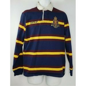 Polo Ralph Lauren Horizontal Striped Rugby Harry M